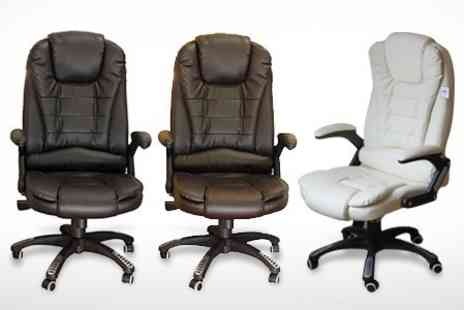 Meriden Furniture - Executive Reclining Office Chair in Choice of Colour - Save 50%
