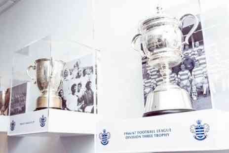 QPR FC - Queens Park Rangers Loftus Road Self Guided Stadium Tour - Save 50%