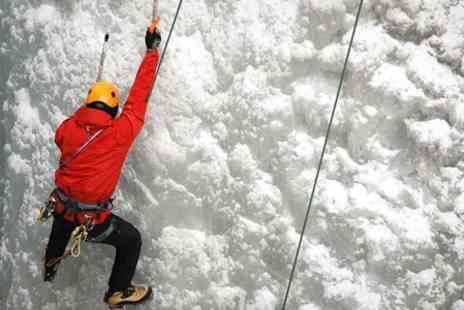 Snow Factor - Ice Wall Climbing With Meal - Save 50%