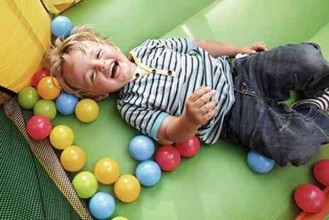 The Play Shack - Soft Play For Three Children With Drinks - Save 82%