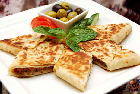 The Lebanese - Starter Main Course and Hot or Soft Drink Each for Two - Save 57%