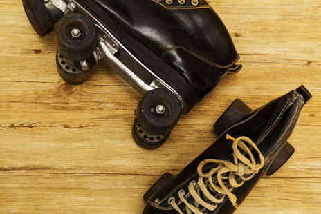 Rolltate Roller Disco - Roller Skating with Skate Hire for Two - Save 55%