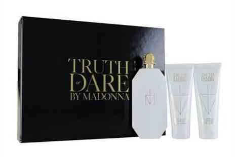 scentwarehouseuk - Madonna Truth Or Dare Eau De Parfum 75Ml Gift Set - Save 60%
