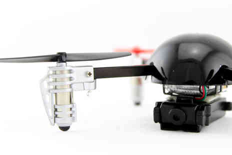 EZ Global - Take to the skies with this Micro Drone 2.0 + Camera - Save 50%