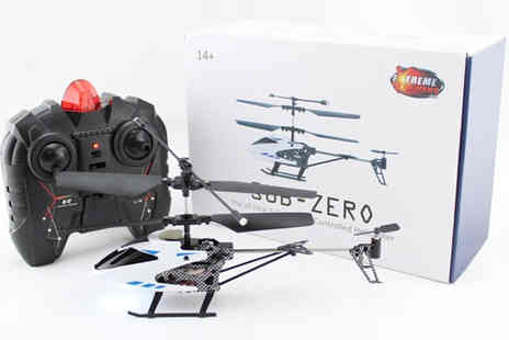 EZ Global - Sub Zero 3CH Helicopter - Save 50%