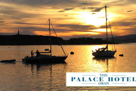 The Palace Hotel Oban - One nights stay for two in Argyll - Save 43%