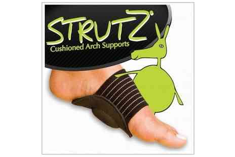 Mega Deals - Strutz Cushioned Arch Supports - Save 50%