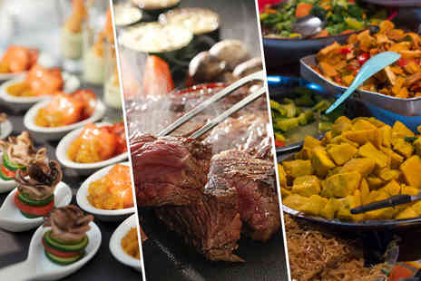 Tara Tari - All you can eat buffet for 2 including a glass of wine - Save 51%