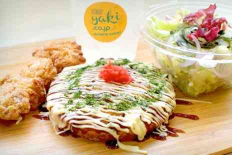 Yaki - Japanese Meal For One With Salad and Drink - Save 49%