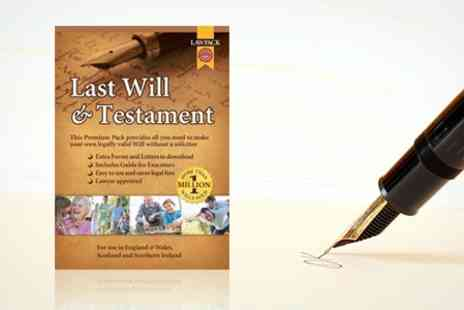 Lawpack Publishing - Last Will and Testament Kit - Save 57%