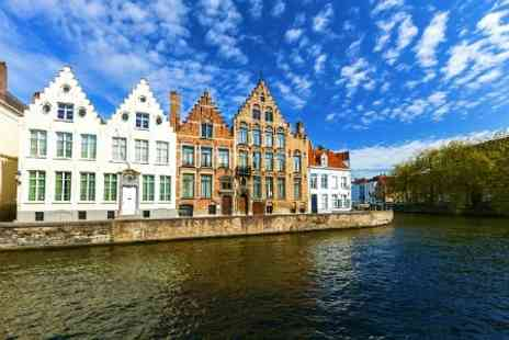 Short Breaks - Two Nights stay in Bruges With Eurotunnel Tickets For Two - Save 52%