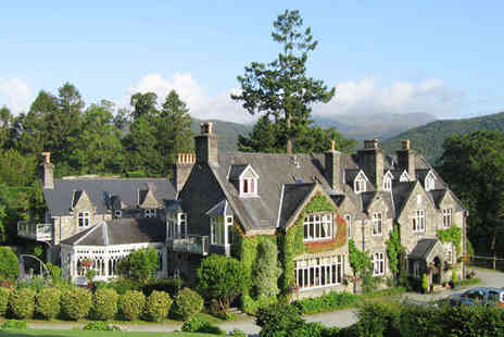 Penmaenuchaf Hall Hotel - One Night Snowdonia Stay for Two - Save 51%
