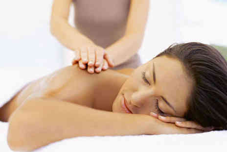 Awakening Senses - 90 Minute Aromatherapy Massage including Heated Crystal Treatment - Save 65%