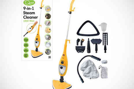 SilverFishes - Nine in One Steam Cleaner - Save 51%