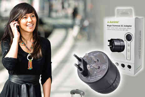 Simply Live -  Practical universal travel adaptor - Save 50%