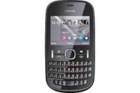 Argos - NOKIA ASHA 201 BLACK - UNLOCKED - Save 30%