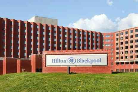 The Hilton Hotel Blackpool - Classic Dining for two, including Main Meal and Coffee or Tea, just £22 at the Hilton Hotel - Save 51%