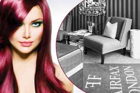 Fairfax London - Precision cut and blowdry plus an intensive conditioning treatment - Save 75%