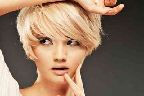 St James Hair & Beauty - Cut and Blow Dry With Colour or Highlights - Save 70%