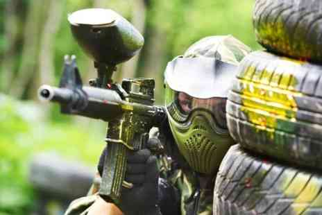Unreal Paintball - Full Day With Lunch For Two - Save 85%
