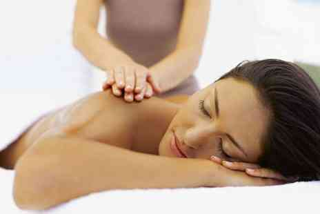 Lirio Therapy - Hour Long Massage with 30 Minute Body Wrap and Express Facial - Save 63%
