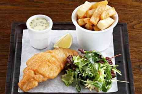 The Black Horse Inn - Posh Fish & Chips with Prosecco for two - Save 51%
