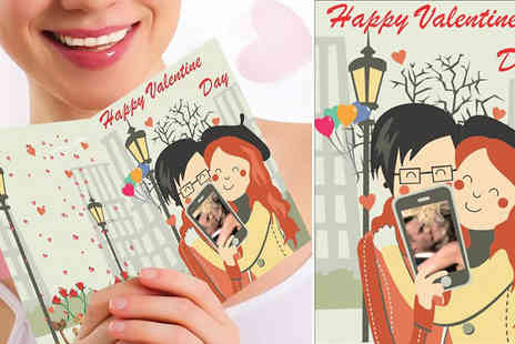 Spicy Decor - Personalised Valentines greeting card - Save 40%
