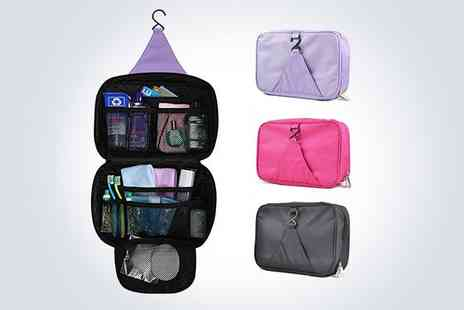 Cuspromo - Two hanging travel cosmetics bags - Save 50%