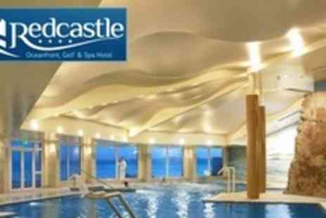 The Redcastle Hotel - Two Night Stay For Two With Breakfast and Round of Golf or Spa Treatment - Save 64%