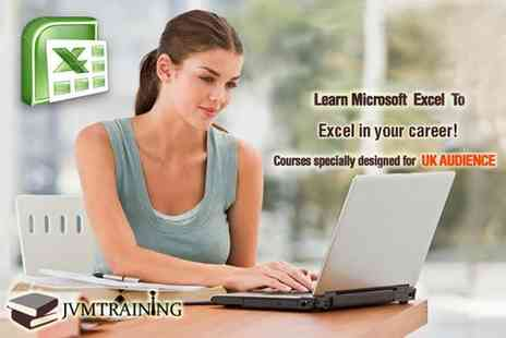 JVM Training - Online beginners and advanced suite course for Microsoft Excel  - Save 85%