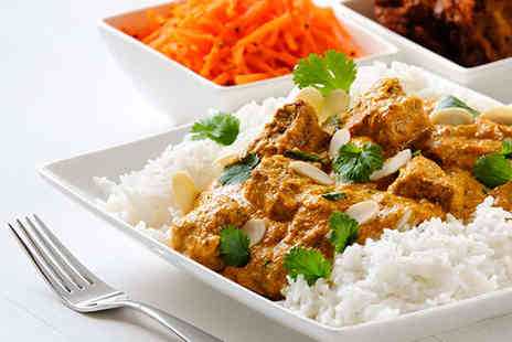 East Bar and Grill - Two Course Indian Meal for Two - Save 62%