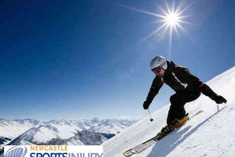 Newcastle Sports Injury Clinic - Three One Hour Ski Fit Lessons - Save 50%
