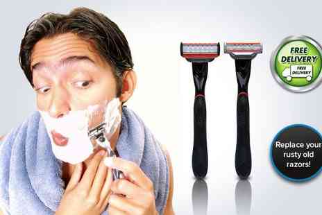Shavekit - Pick up a razor handle and first four cartridges - Save 57%