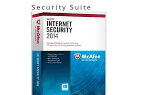 Software Link - McAfee Internet Security Suite 2014 - Save 75%