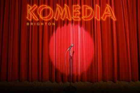 Komedia - Krater Comedy Club Entry - Save 50%