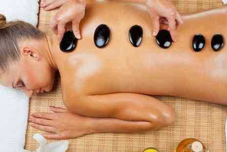 Laser Studio Beauty Center - One Hot Stone and Head Massage Sessions - Save 78%