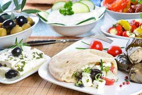 Zorbas Restaurant - Greek Meze Banquet With Wine for Two - Save 37%
