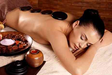 Behind the scenes - Massage Plus Facial or Hot Stone Massage - Save 53%
