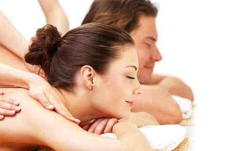 The Spa Room - Pamper package for two  including an exfoliating facial with a back neck and shoulder massage - Save 71%
