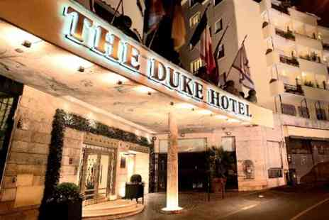The Duke Hotel - One Nights For 2 With Breakfast and Prosecco - Save 53%
