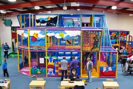 Giddy Kids Play Centre - Full Days Soft Play For Two to Four Children - Save 51%