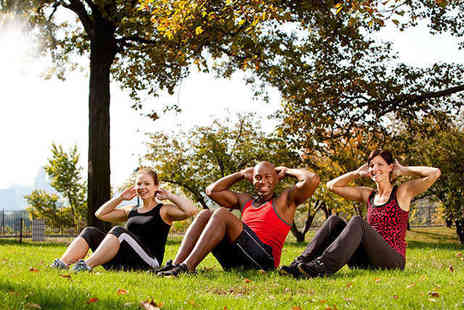 Operation Fitness - One Month Unlimited Outdoor Fitness Pass or Ten Outdoor Fitness Classes - Save 74%
