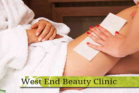 West End Beauty Clinic - Brazillian or Hollywood hot wax session  - Save 67%