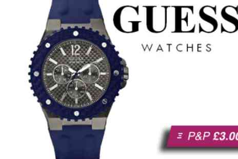 Brand Arena - Guess overdrive mens sport watch - Save 65%
