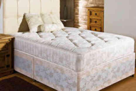 homefurnishingsuk - New Firm Ortho Divan Bed Plus 10 Inch Mattress Sizes 2Ft6  - Save 5%