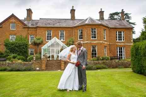 Sedgebrook Hall - Wedding Package three Course Wedding Breakfast and Drinks - Save 50%