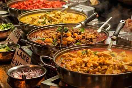 Abys Indian Experience -  Table Service Buffet For Two - Save 50%