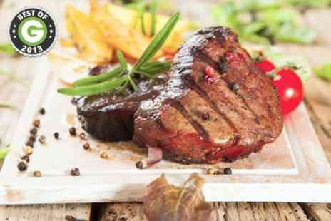 White Horse Inn - Steak Meal Plus Wine - Save 53%