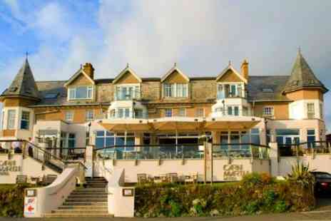 Carnmarth Hotel - In Newquay Coast One Nights For Two With Breakfast and Wine - Save 40%