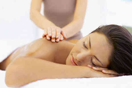 DR Massage and Fitness - Hot Stone Massage with Mini Facial - Save 58%